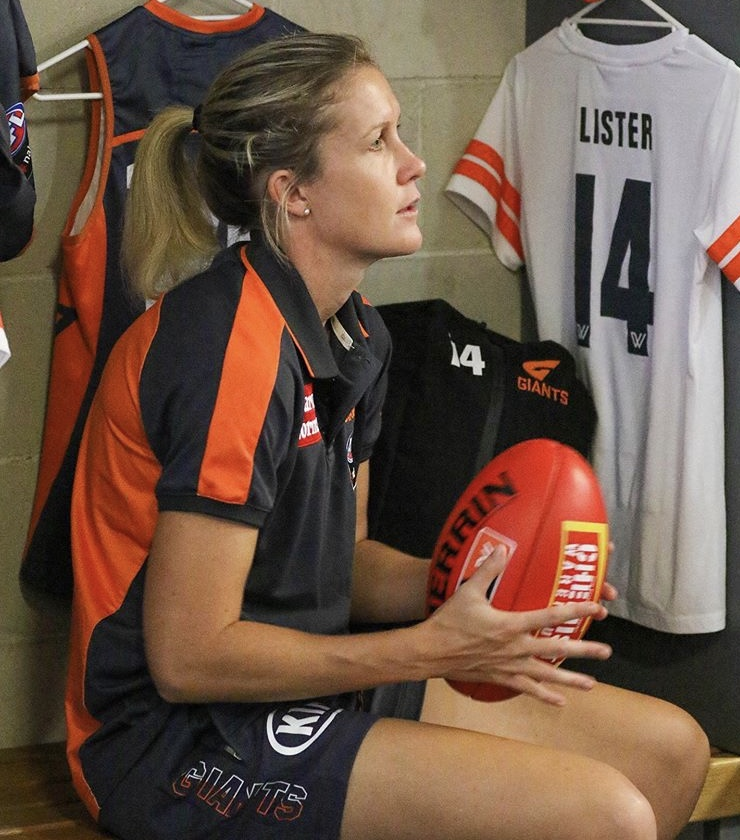 "Annalyse Lister featured in GWS ""Monday"" clip"