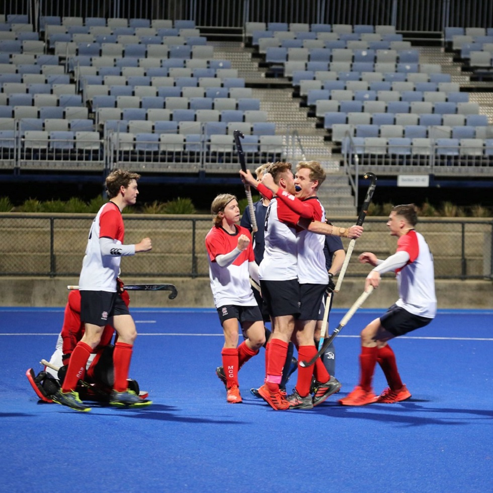 Men's Premier League team make MCC Hockey history